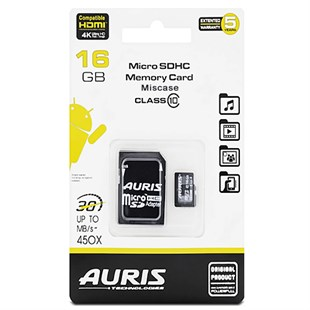Auris 16 Gb Sd Kart