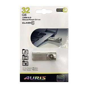 Auris 32 Gb Metal Flash Bellek Class 10